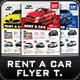 Rent a Car Flyer Templates - GraphicRiver Item for Sale