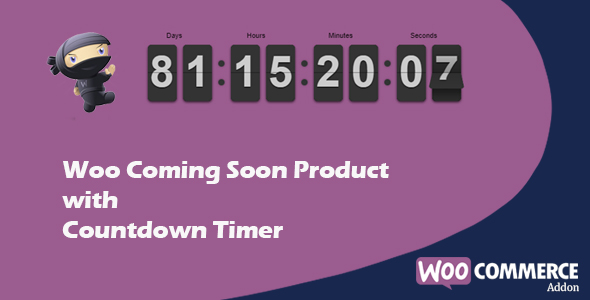 WooCommerce Coming Soon Product with Countdown - CodeCanyon Item for Sale