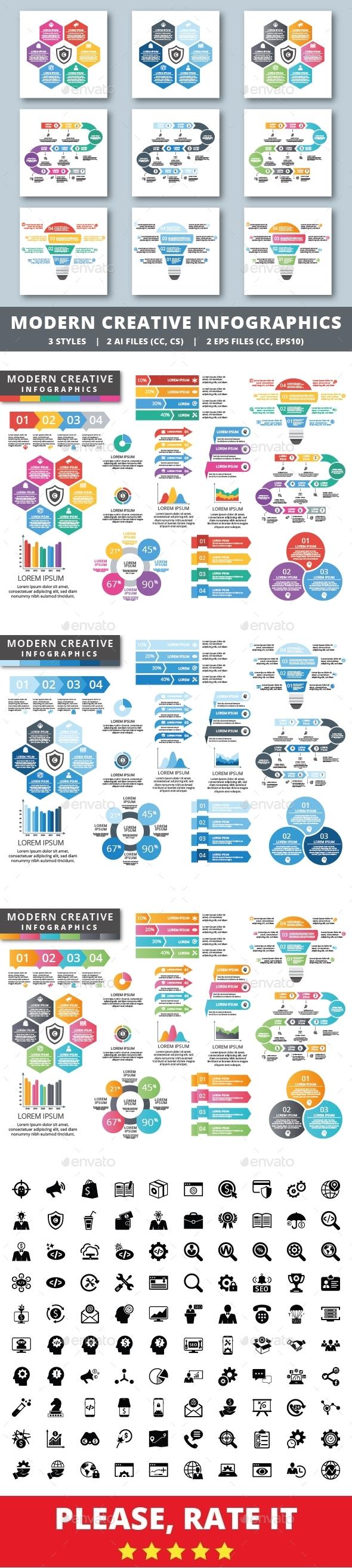 Modern Creative Infographics - Infographics