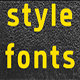 Style-Bold-1 Font - GraphicRiver Item for Sale