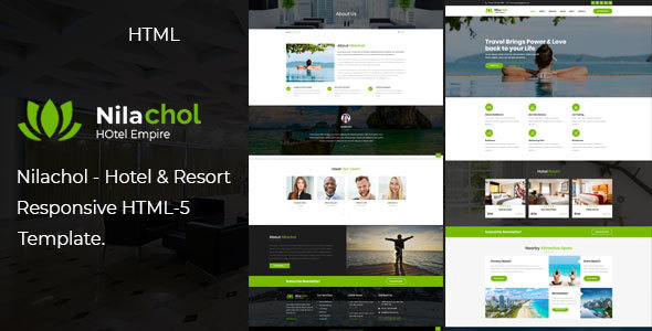 Nilachol | Hotel and Resort HTML5 Template