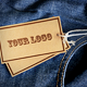 4 Photorealistic Jeans Label Mockups