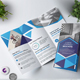 Geometric Tri-Fold Brochure - GraphicRiver Item for Sale