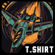Air Attack T-Shirt Design - GraphicRiver Item for Sale
