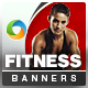 Health & Fitness HTML5 Banners - 7 Sizes - CodeCanyon Item for Sale