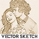 Vector Sketch Photoshop Action - GraphicRiver Item for Sale