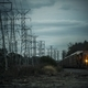 Power Lines and the Railroad - PhotoDune Item for Sale