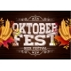 Oktoberfest Banner Illustration with Typography - GraphicRiver Item for Sale