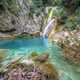 Kalamaris waterfall blue river peloponnese - PhotoDune Item for Sale