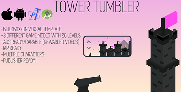 Tower Tumbler - CodeCanyon Item for Sale