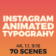 Instagram Animated Typography - VideoHive Item for Sale