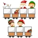 Mining Carts And Christmas Elements - GraphicRiver Item for Sale