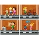 Children Hanging Out On The Sidewalk - GraphicRiver Item for Sale