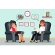 Psychologist Consultation Patient Character Flat
