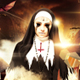 Scary Nun Halloween Costume Party Event Flyer - GraphicRiver Item for Sale