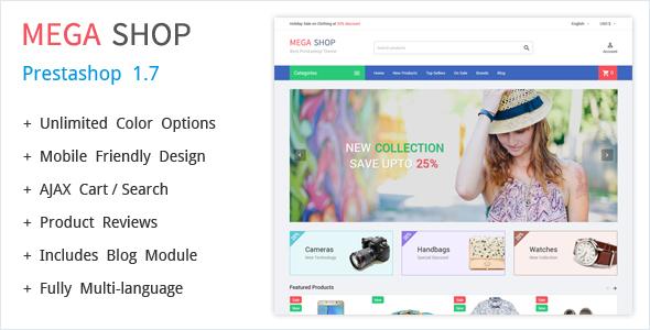 MegaShop - Prestashop Theme - PrestaShop eCommerce