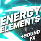 Energy And Explosion Elements + Titles - VideoHive Item for Sale
