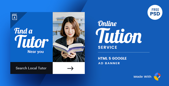 Online Tutor | HTML Ad Banner 01            Nulled