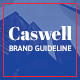 Caswell A4 Brand Guidelines Template - GraphicRiver Item for Sale