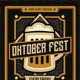 Oktober Fest Flyer - GraphicRiver Item for Sale
