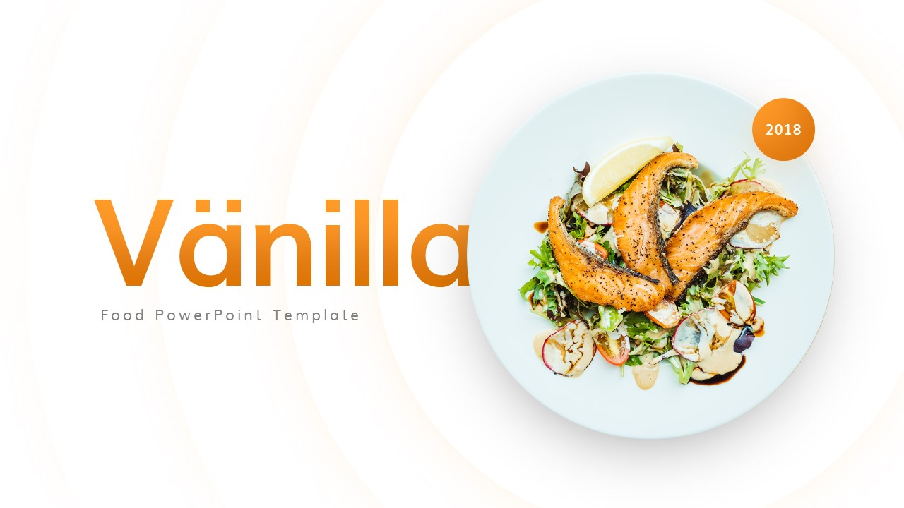 Vanilla Food And Culinary Powerpoint Template By Brandearth