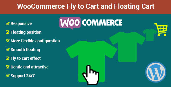 WooCommerce Fly to Cart and Floating Cart            Nulled