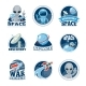 Space Labels Collection - GraphicRiver Item for Sale