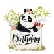 Little Birthday Panda - GraphicRiver Item for Sale