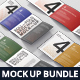 Roll-Fold Brochure Mockup Bundle - GraphicRiver Item for Sale