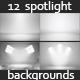 12 Infinite White Floor Spotlight Backgrounds - GraphicRiver Item for Sale