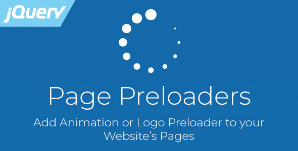 Page Preloaders - jQuery Plugin with Preload Animations            Nulled