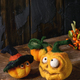 Needle felted pumpkin jack - PhotoDune Item for Sale