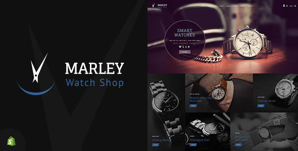 Marley | Sectioned Watch Shopify Theme