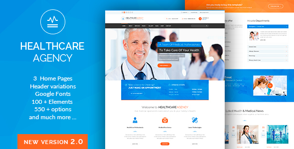 Health Care - Health & Medical WordPress