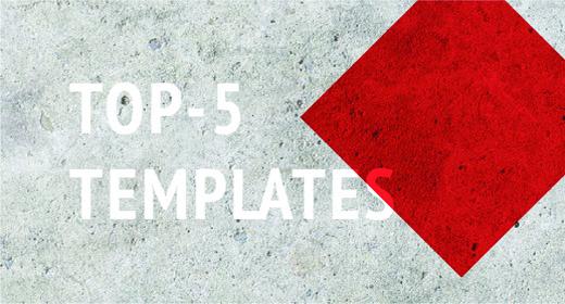 TOP 5 Templates