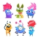 Cartoon Monsters. Halloween Gremlins. Funny Vector - GraphicRiver Item for Sale