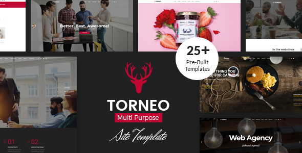 Torneo - Creative Agency Multi-purpose HTML Template - Creative Site Templates