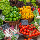 Colorful vegetables and salad for sale  - PhotoDune Item for Sale