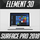 Surface pro 2018 - 3DOcean Item for Sale