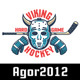 Hockey Emblem Retro Set - GraphicRiver Item for Sale