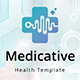 Medicative - Health Google Slide Template - GraphicRiver Item for Sale