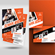 Boxing School Flyer with Postcard Bundle - GraphicRiver Item for Sale