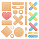 Color Aid Band Plaster Medical Patch Set - GraphicRiver Item for Sale