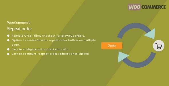 WordPress WooCommerce Repeat Order Plugin            Nulled