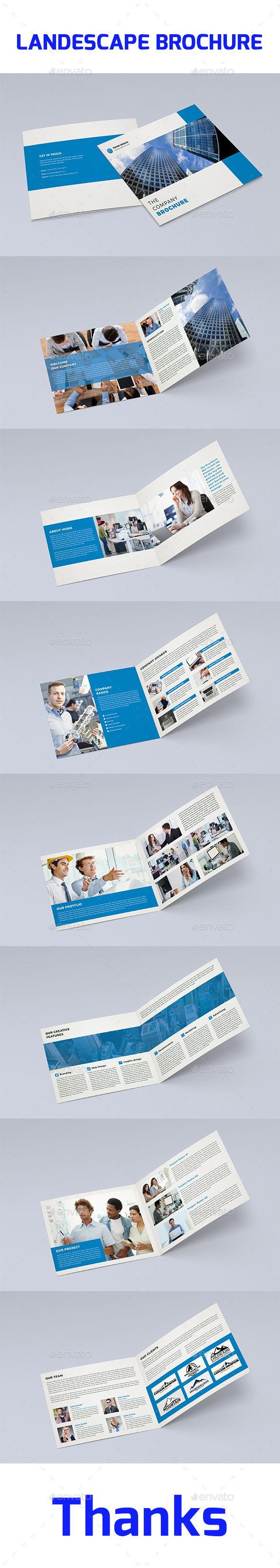 Brochure Indesign Tamplate - Brochures Print Templates