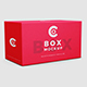 Rectangle Box Mockup - GraphicRiver Item for Sale