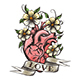 Human Heart with Flowers - GraphicRiver Item for Sale
