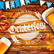 Oktoberfest Festival Party Flyer Poster - GraphicRiver Item for Sale