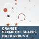 Orange Geometric Shapes Background - VideoHive Item for Sale