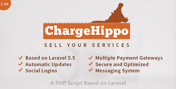 ChargeHippo - Sell Services Online (PHP Script) - CodeCanyon Item for Sale